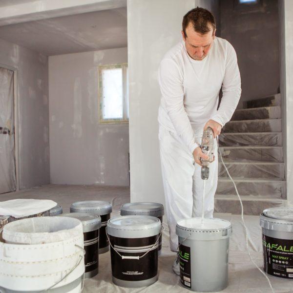 preparation de peinture pour pistolet airless